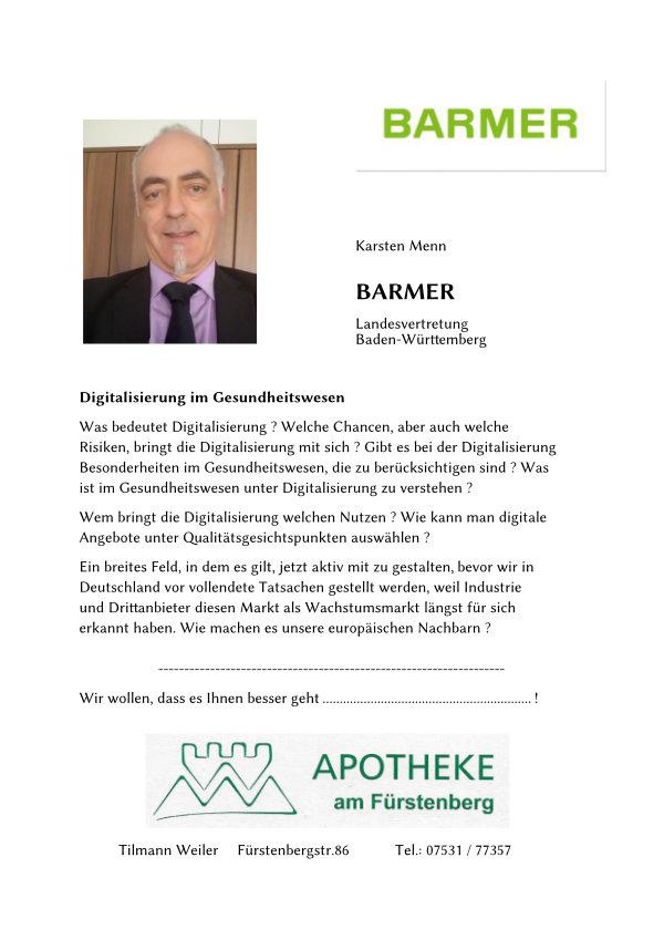 Text von Karsten Menn von der Barmer.
