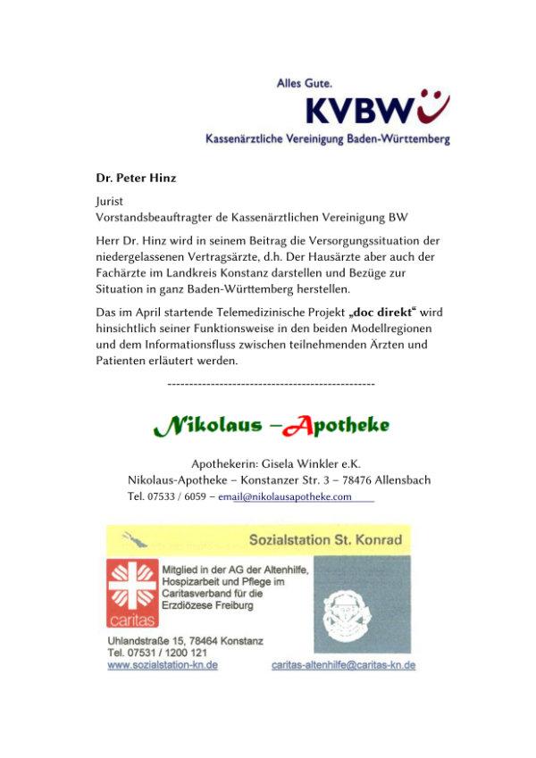 Text von der KVBW