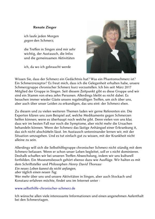 Text von Renate Zieger