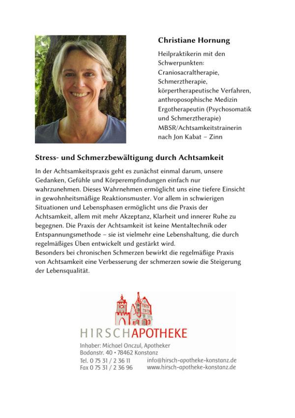 Text von Christiane Hornung.