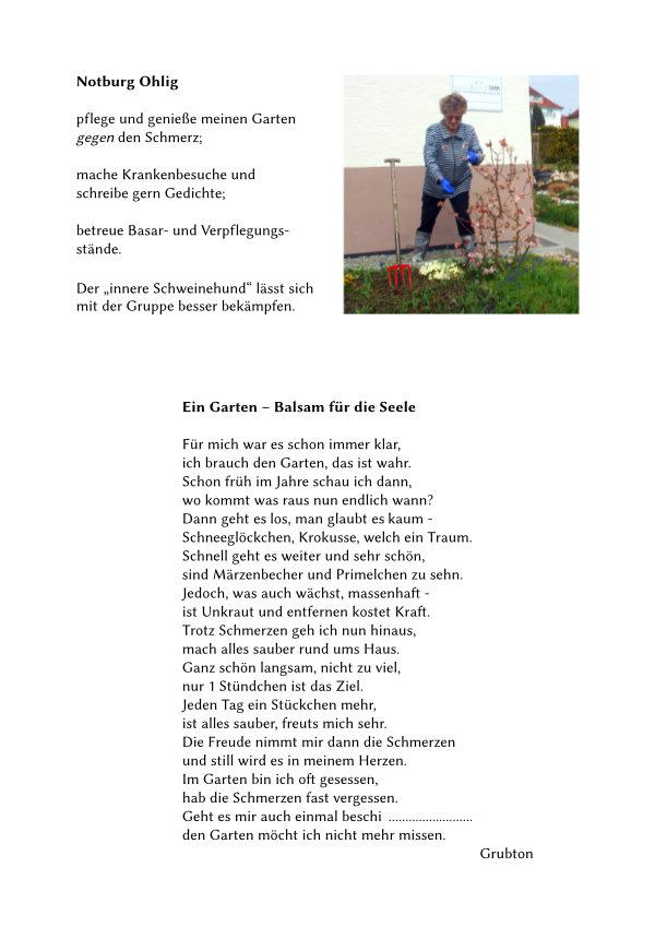 Text von Frau Ohlig.