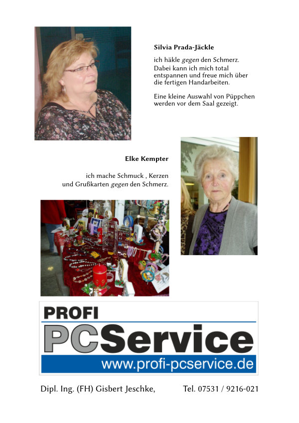 Text von Frau Prada-Jäckle und Frau Kempter.
