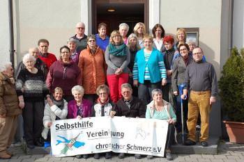 Foto der Mitgliederversammlung 2013 der Selbsthilfegruppe.